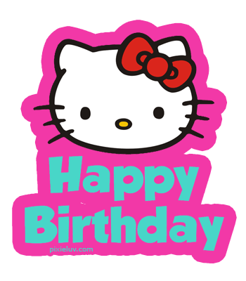 Koleksi Baru 29 Gambar Hello Kitty Happy Birthday