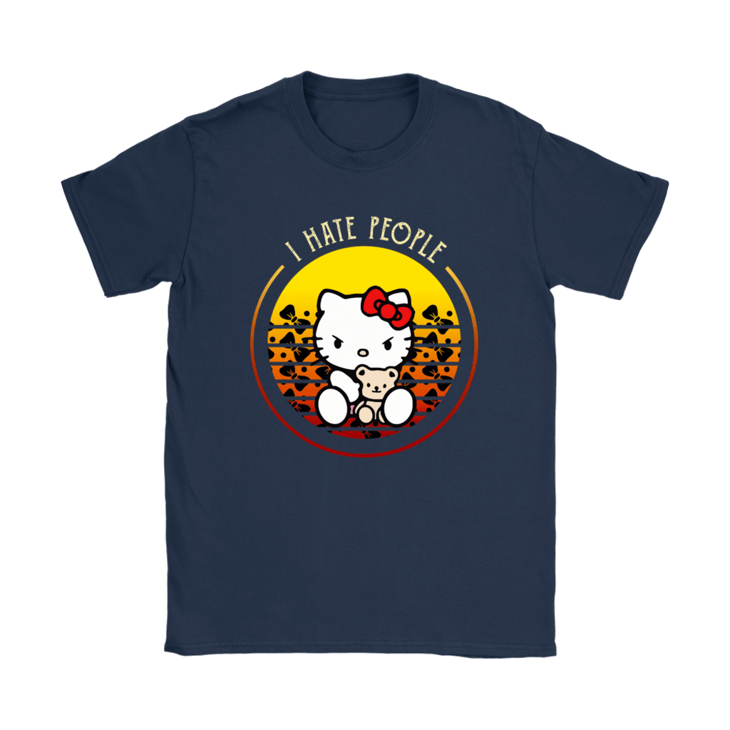 Angry Hello Kitty I Hate People Shirts  Teeqq Store