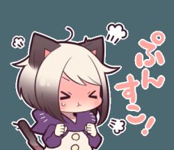 angry kitten on Tumblr