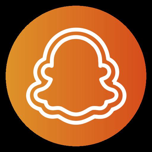 Get Snapchat Logo Aesthetic Orange Gif  Expectare Info