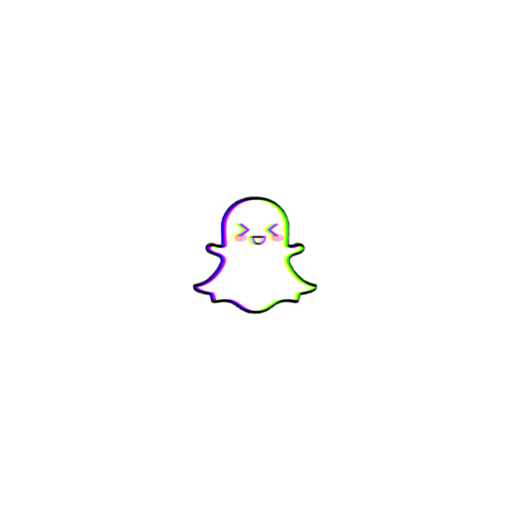 Aesthetic Snapchat Logo Pink And Purple  aesthetic caption