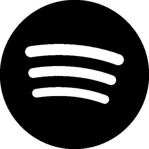 Spotify Big Logo  Free music icons