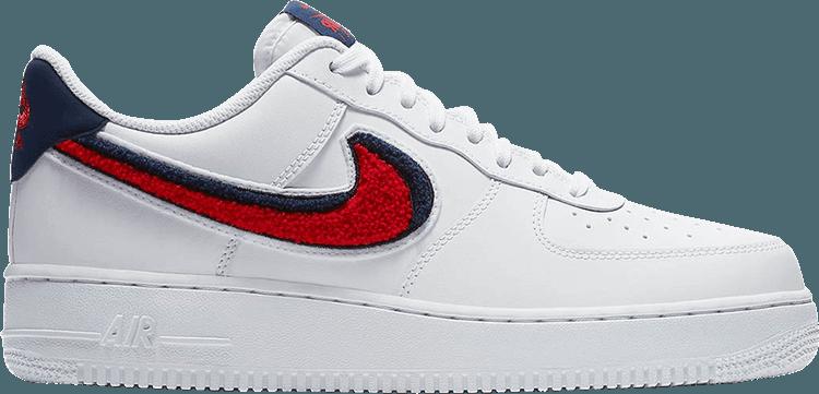 Nike Air Force 1 07 LV8 Chenille Swoosh  Nike air force