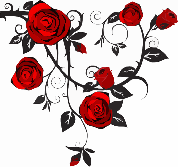 Rose Clip Art at Clkercom  vector clip art online