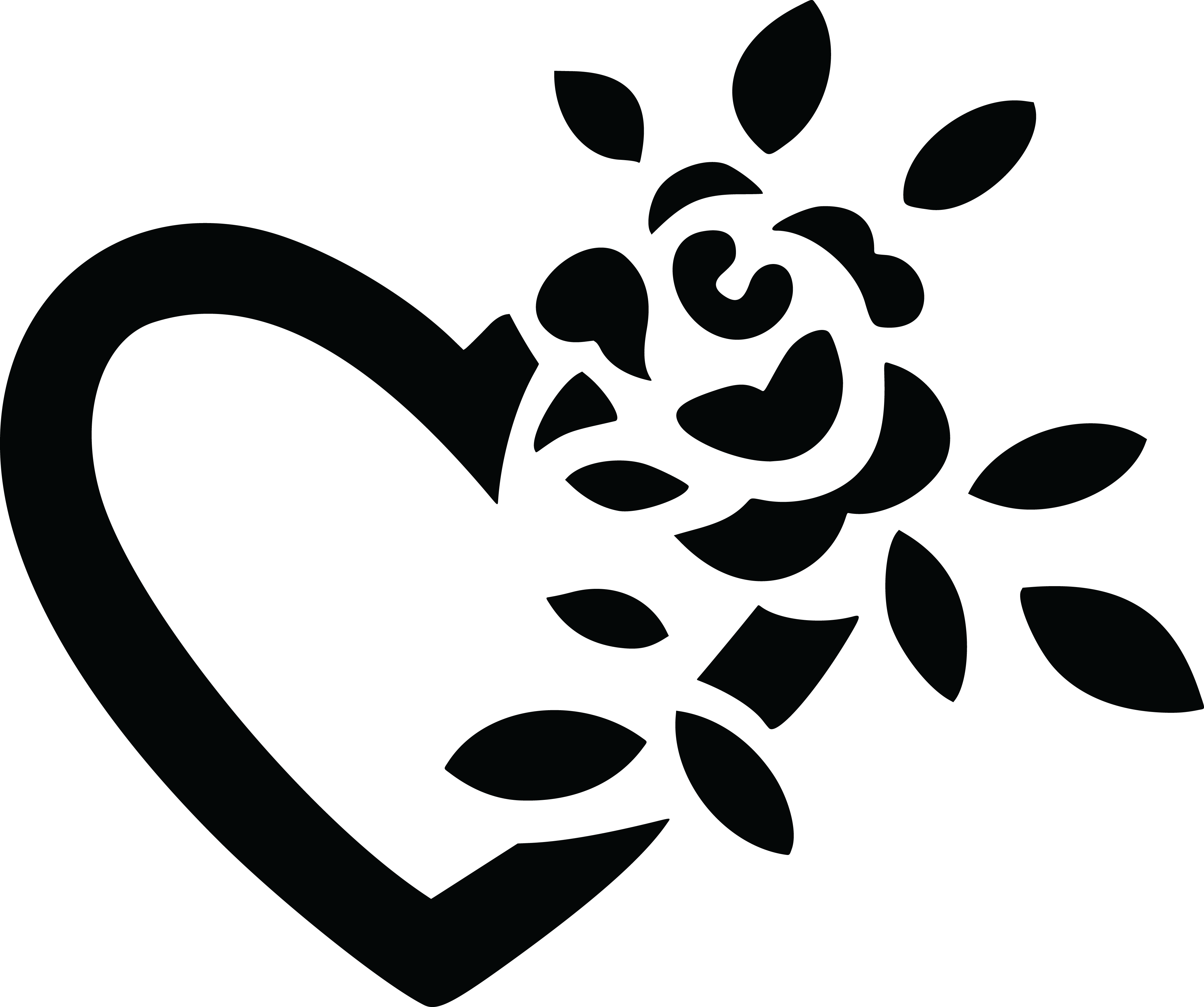 Free Clipart Of A Black And White Fully Bloomed Rose ... - Beautiful Black and White Roses