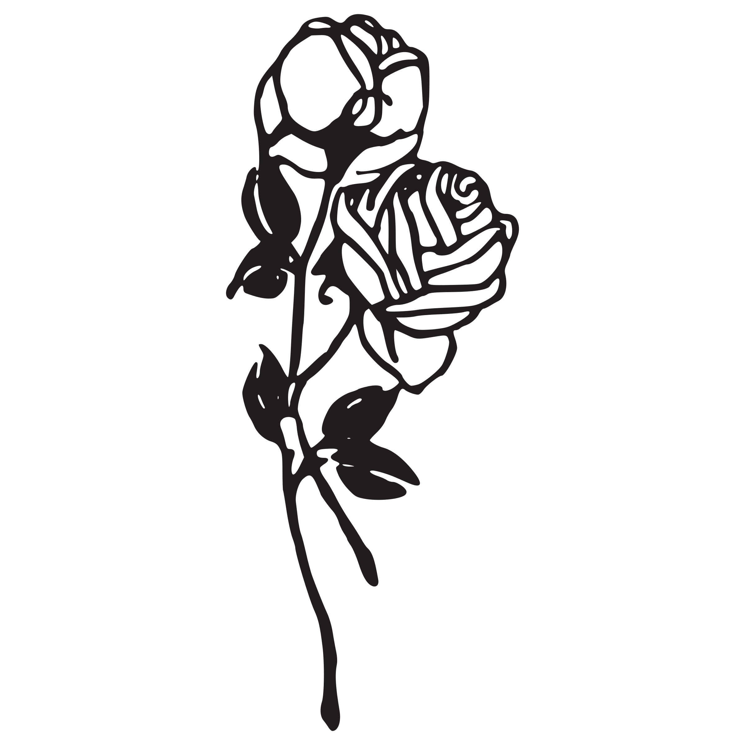 Rose Flower Png Black And White & Free Rose Flower Black ... - Beautiful Black and White Roses