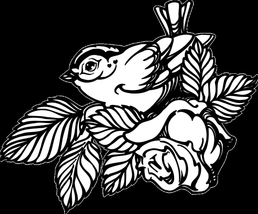 How to make drawing of rose 14 free printable rose