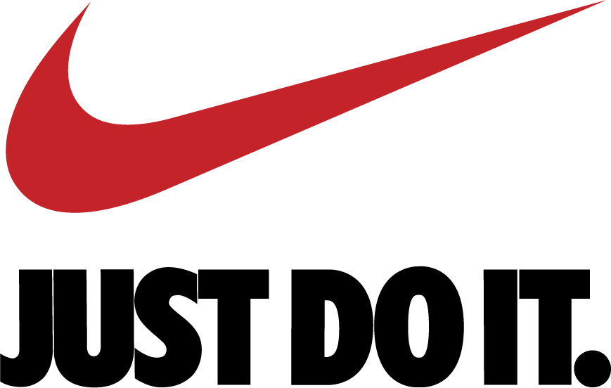 Nike Logo Vector Clipart Pngs  Just Do It Logo