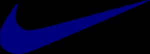 Rocket Swoosh Blue Clip Art at Clkercom  vector clip art