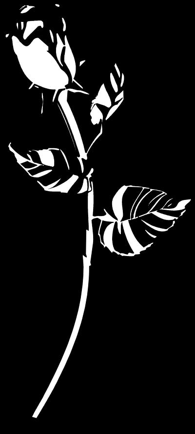 Rose black and white roses clip art black and white
