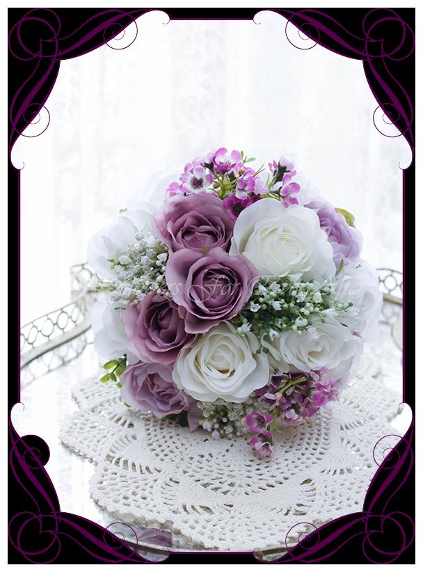 Carrie Bridesmaids Bouquet  Artificial Bridal Bouquets