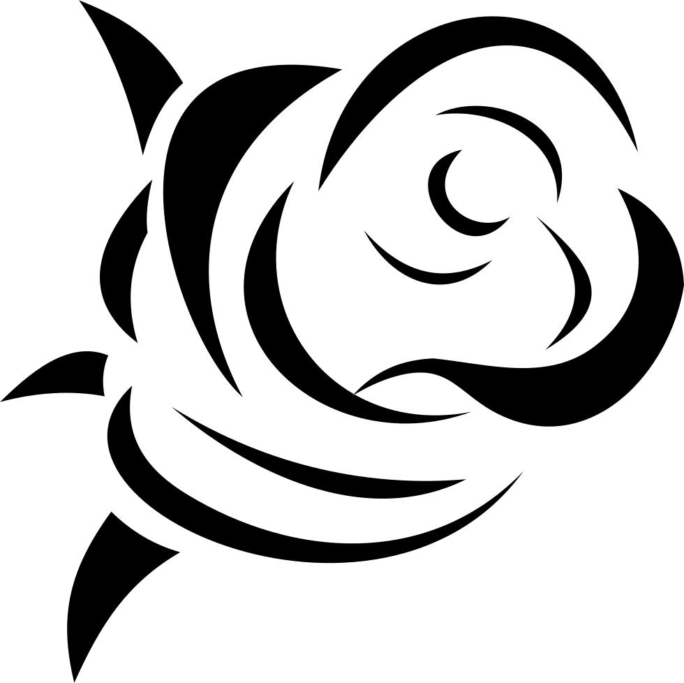 Rose Svg Png Icon Free Download 87429  OnlineWebFontsCOM
