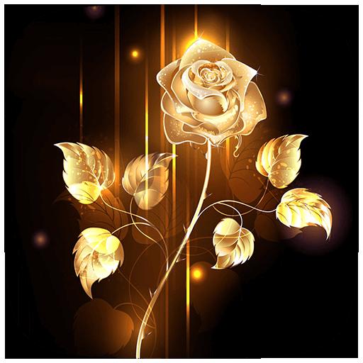Download Gold Rose Wallpaper Gallery