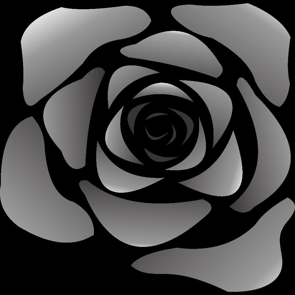 Black Rose SVG Clip arts download  Download Clip Art PNG