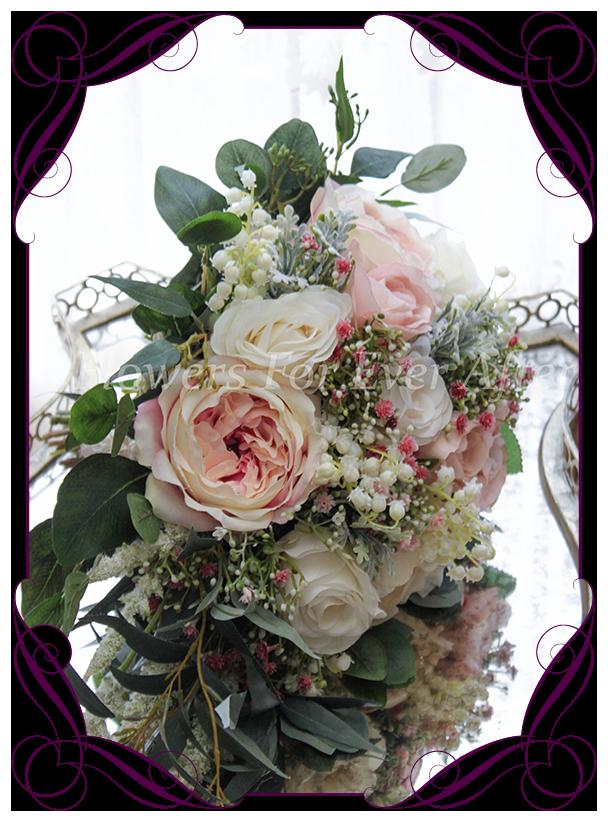Maddison Bridal Cascade Bouquet  Artificial Bridal