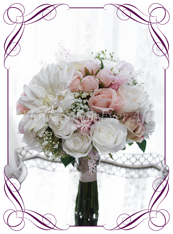 Ava Bridal Bouquet  Artificial Bridal Bouquets  Silk