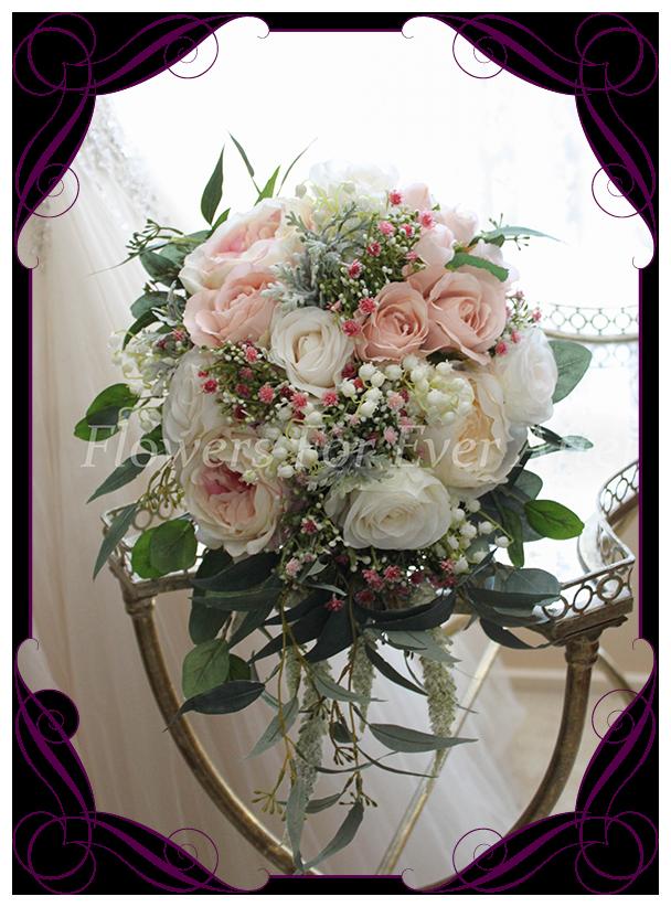 Maddison Bridal Cascade Bouquet  Gorgeous Artificial