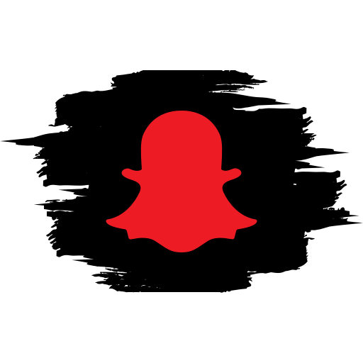 Connection media network snapchat social icon