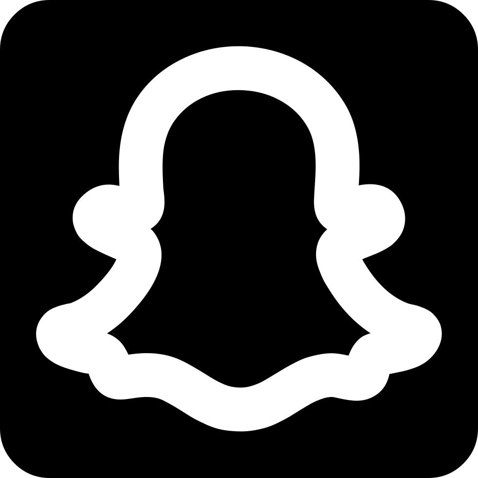 Snapchat logo outline png 1465  Free Transparent PNG Logos