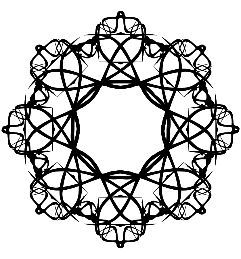 Black And White Rose Border Clip Art  Clipart Panda