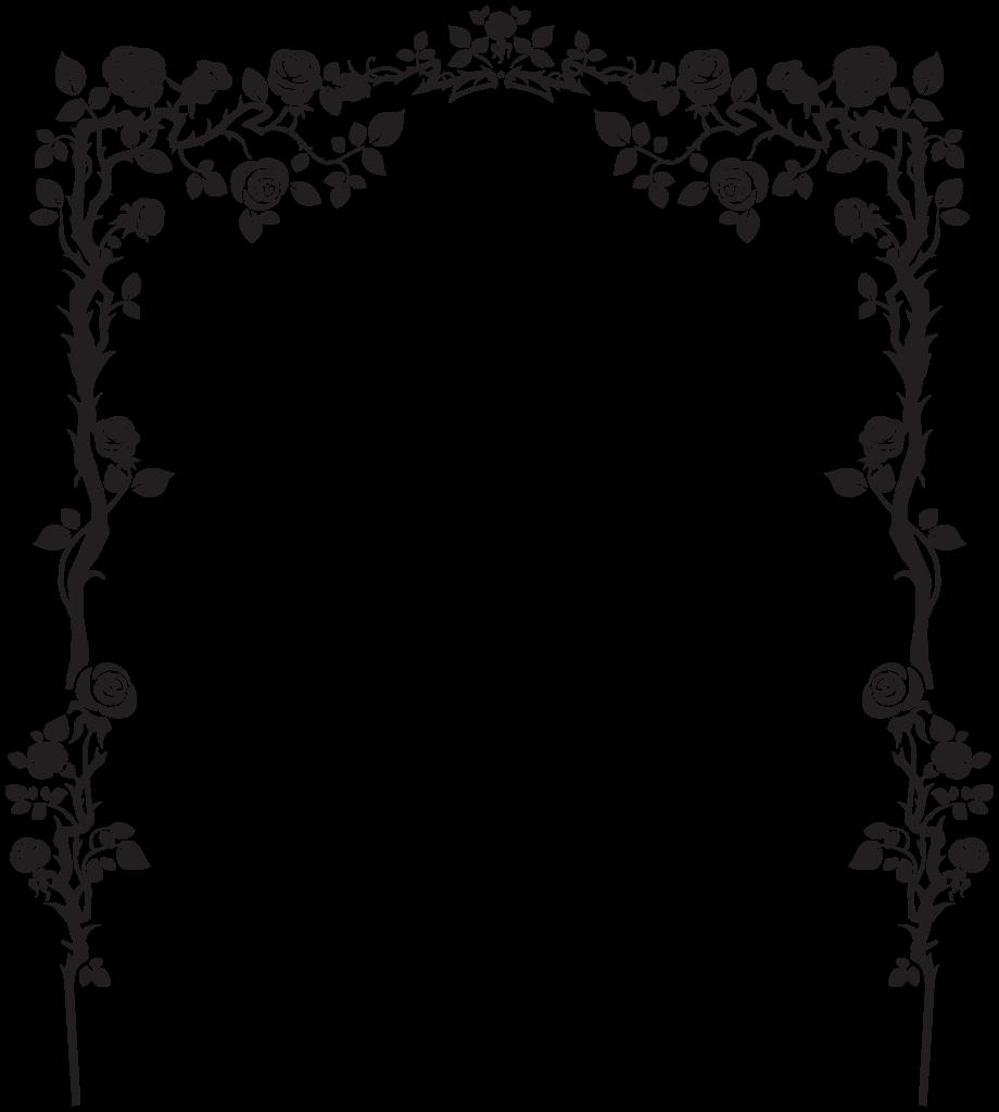 Rose Arch Decor PNG Clip Art Image  BFBWy  Pinterest