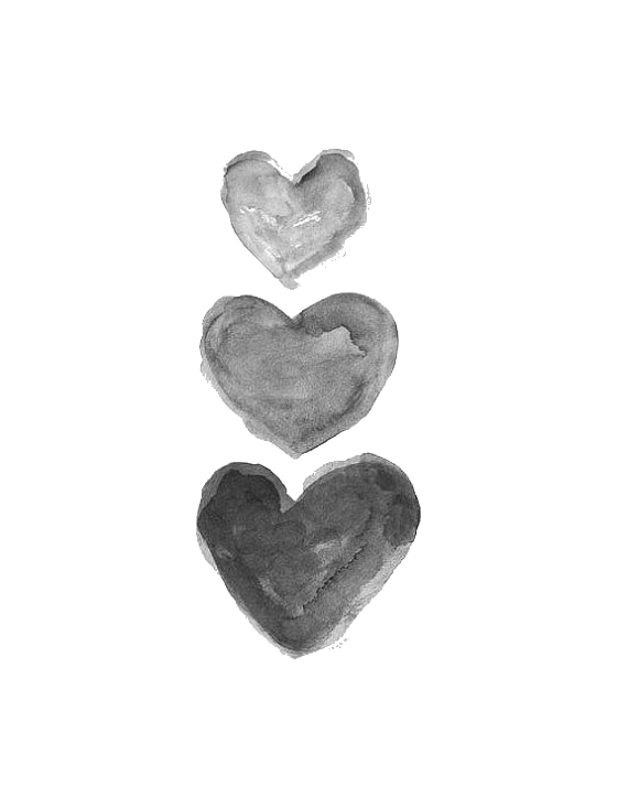 Pin by Patience Rose on Heart png  Grey art Black wall