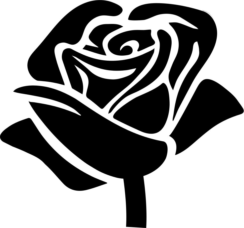 Rose Shape Svg Png Icon Free Download 40099