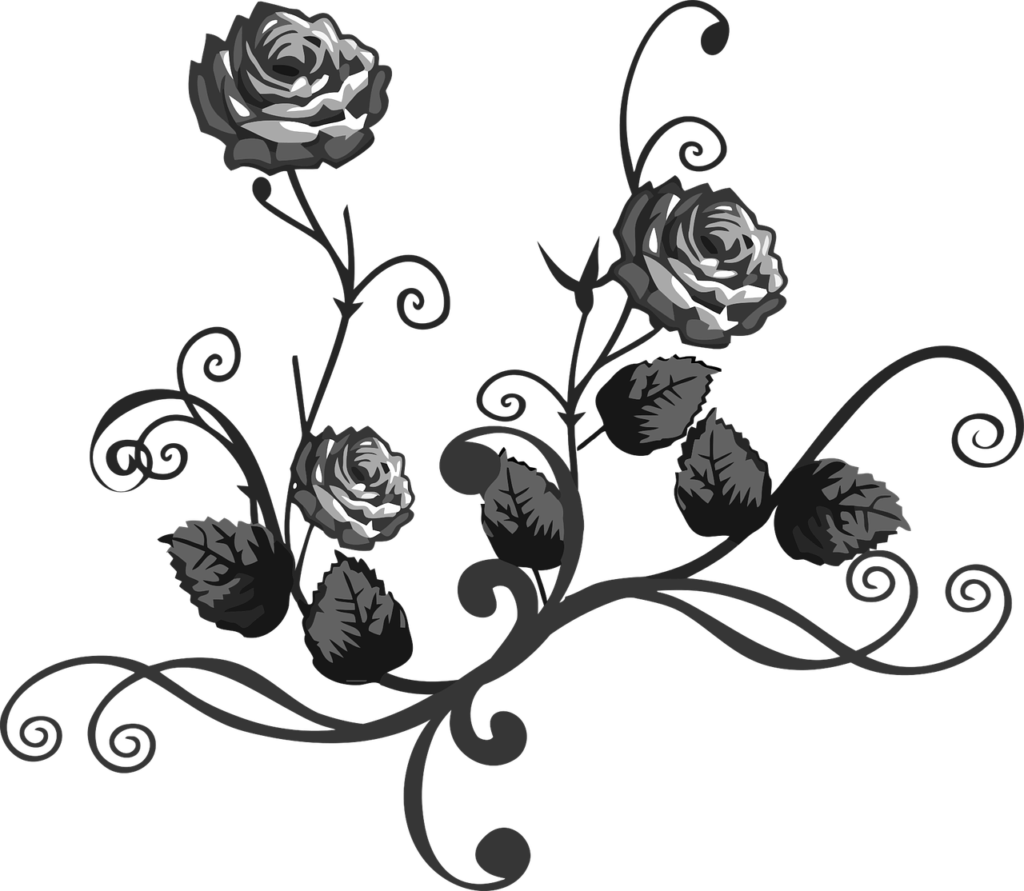 Roses Stencil  ClipArt Best