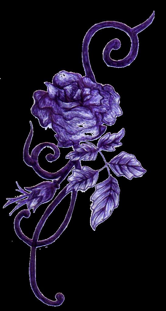 Purple Rose Tattoos Tattoo artist Body art  purple png