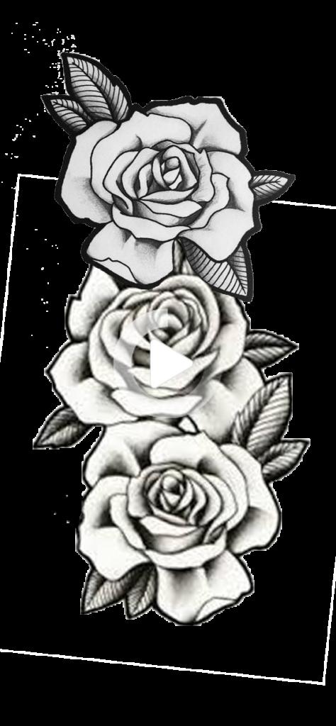 Pin on Black Rose Tattoo
