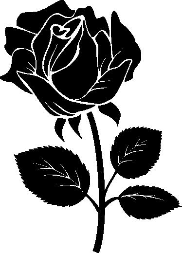 Bildergebnis für silhouette rosa  Rose stencil Stencil
