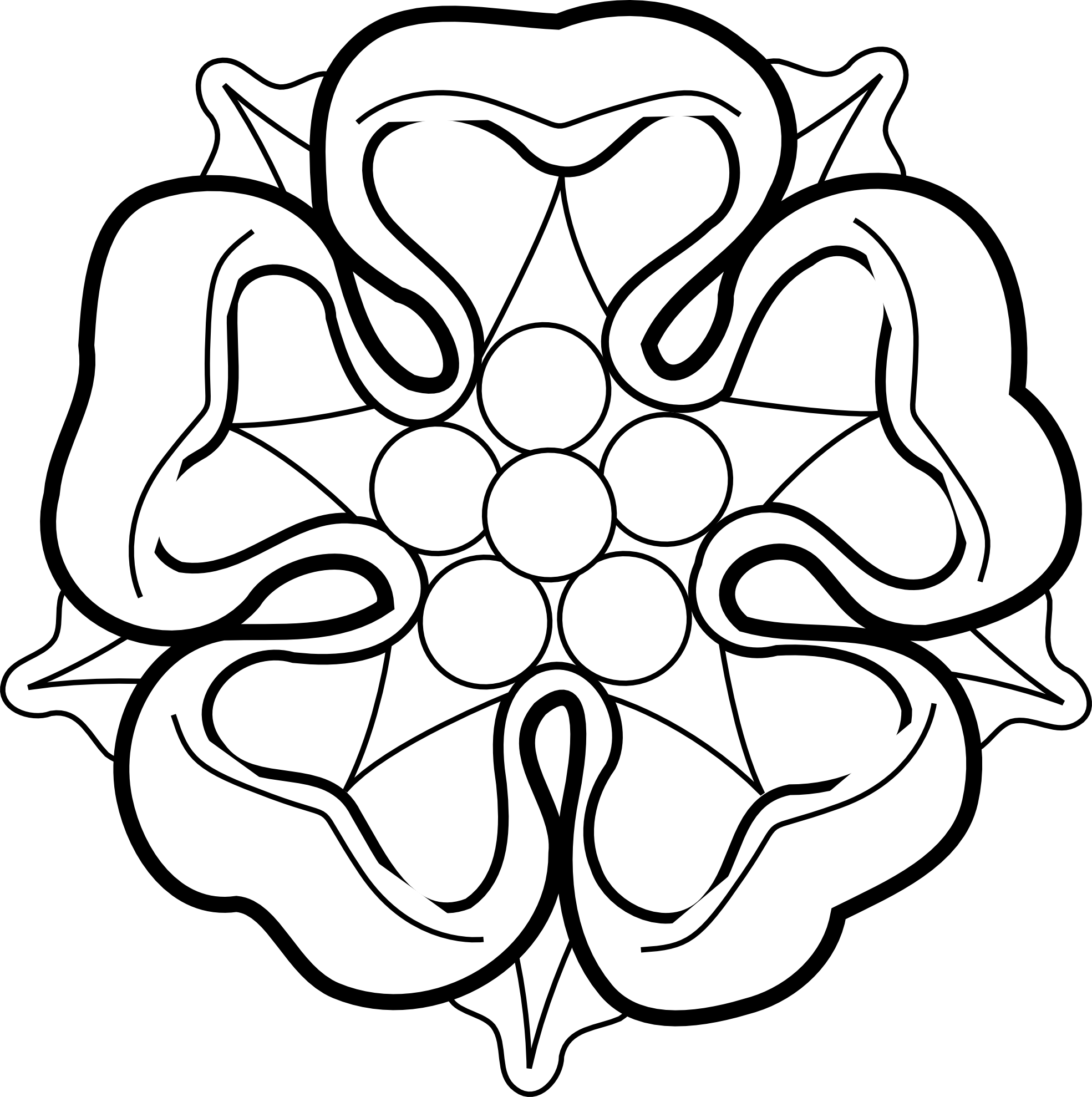 Rose Drawings Black And White - Cliparts.co - Black and White Roses with Color