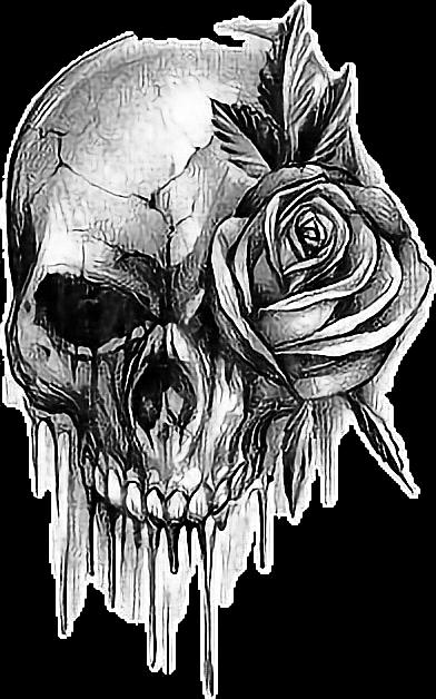 Skull Rose Tattoo  Best Tattoo Ideas