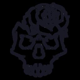 Detailed rose icon  Transparent PNG  SVG vector file