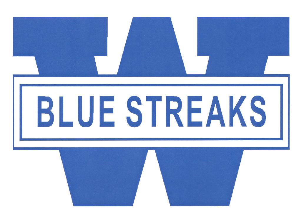 Registration / Sports - WHS Backers & WNHS Boosters - Blue Streak Logo
