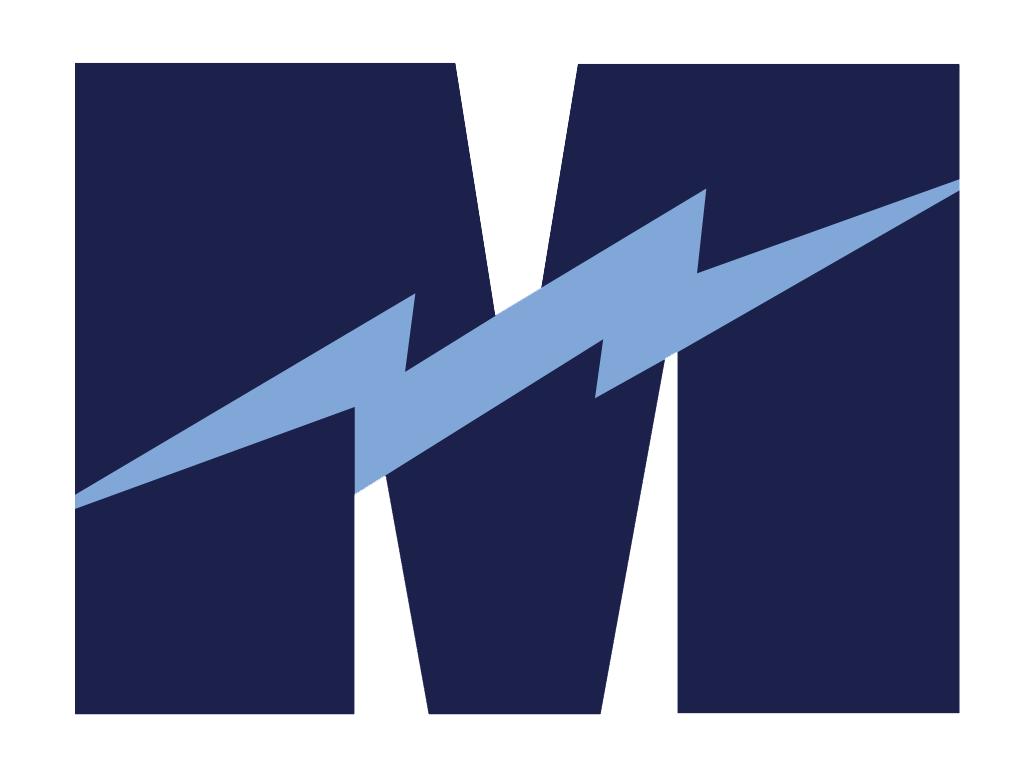 Magnificat - Team Home Magnificat Blue Streaks Sports - Blue Streak Logo