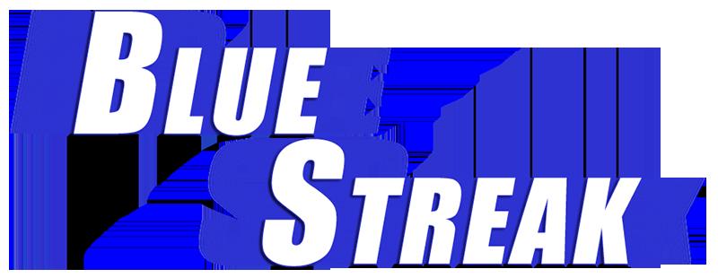 Blue streak Logos