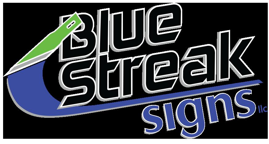 Blue Streak Signs