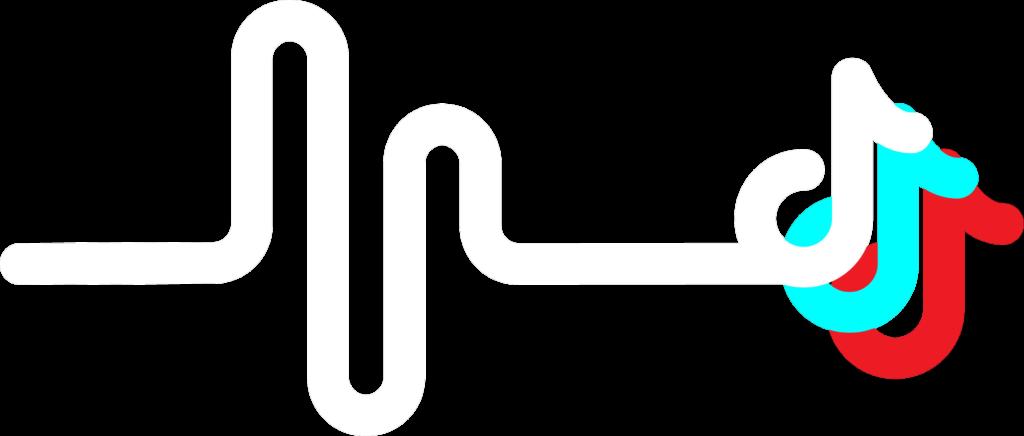 tiktok logo red blue tiktokstickers freetoedit