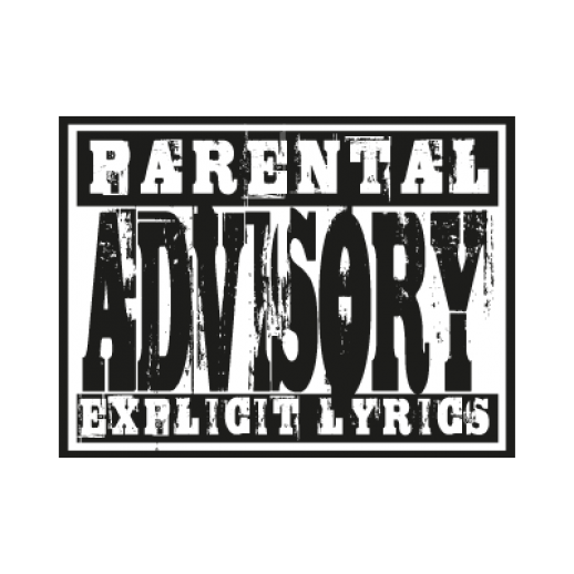 Parental Advisory lyrics logo Vector  AI PDF  Free