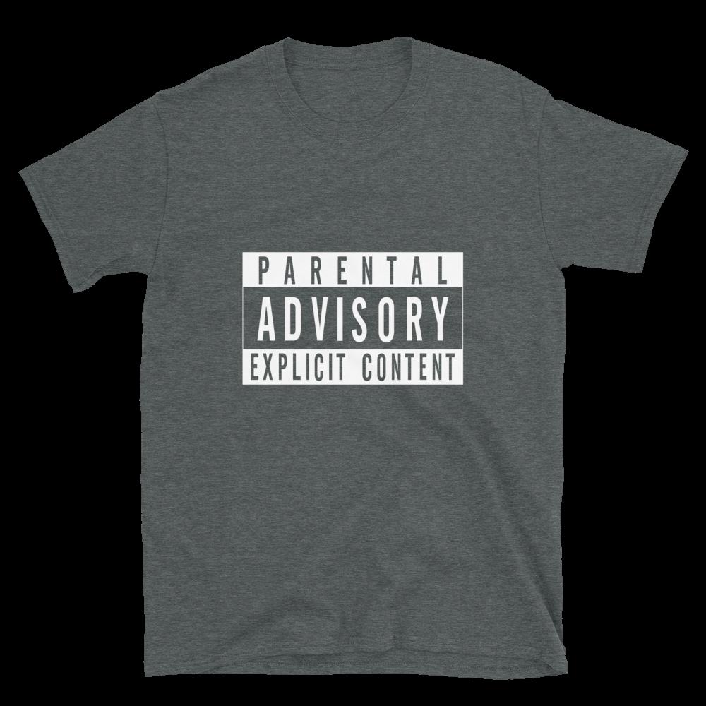 Parental Advisory ShortSleeve Unisex TShirt  Modern