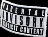 Free pArEnTaL aDviSoRy sticker PSD Vector Graphic