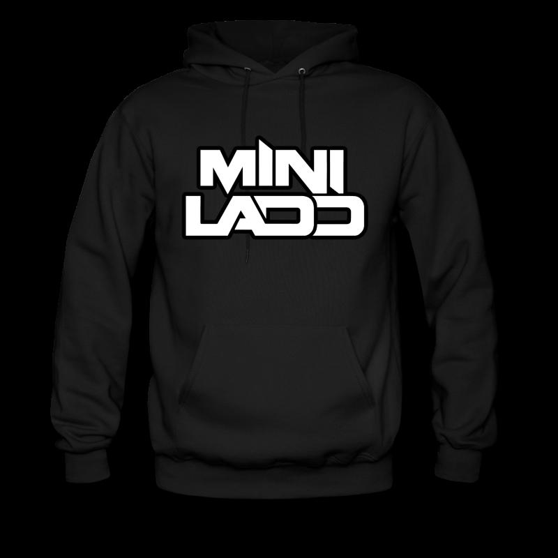 Mini Ladd Logo White png  Mens Hoodie  Hoodies Mini