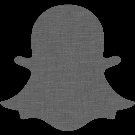 Grey wall snapchat 2 icon  Free grey wall social icons