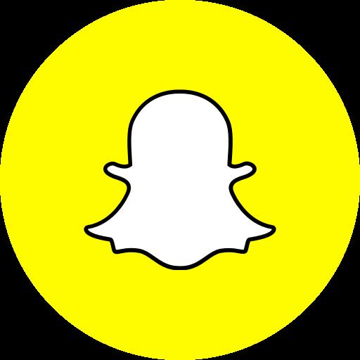 App logo media popular snapchat social icon