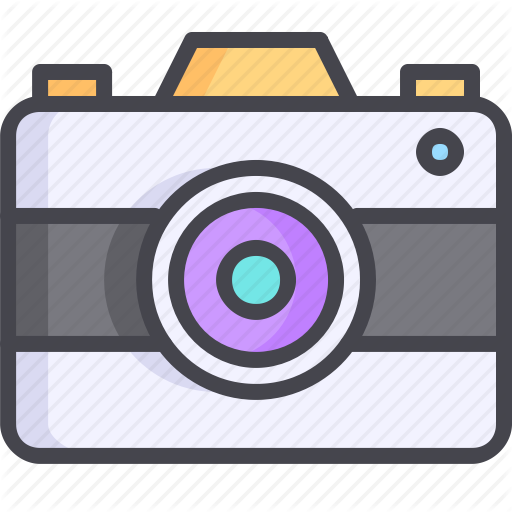 Camera digital photo snapchat icon