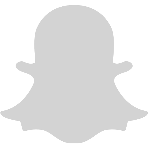 Light gray snapchat 2 icon  Free light gray social icons