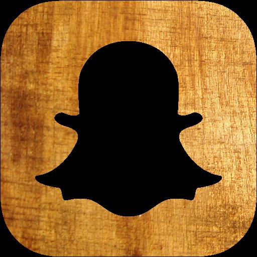 Light wood snapchat icon - Free light wood social icons ... - Custom Snapchat Icon