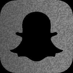 Custom color snapchat icon  Free social icons