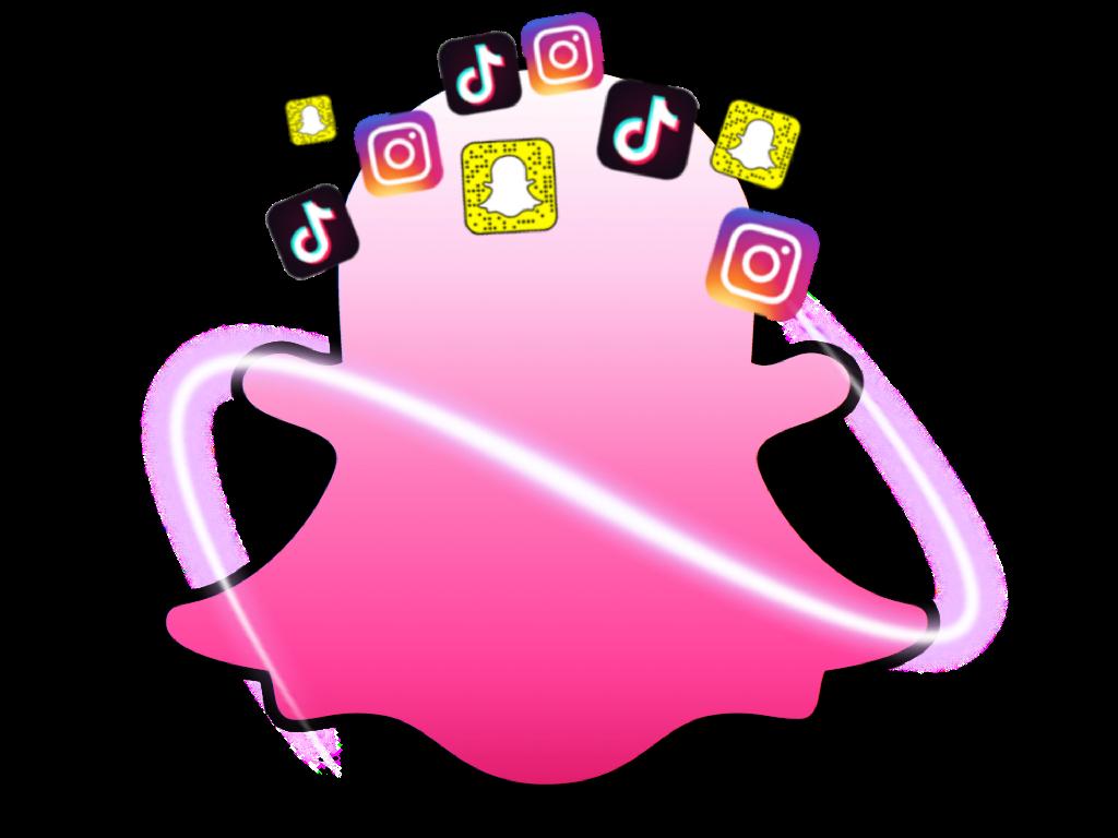 snapchat snap intagram tiktok cellphone  Cute